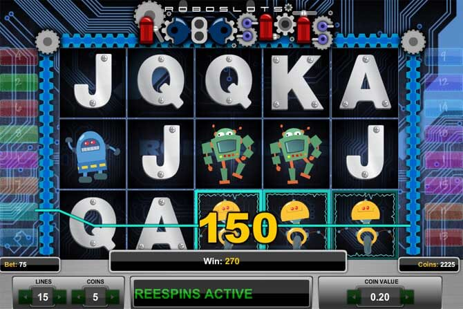 Get Your Gears Going with Roboslots