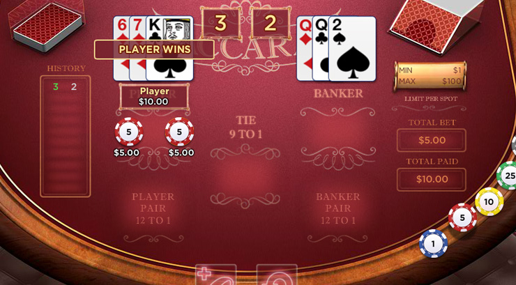 Online Baccarat: Updating a Casino Classic